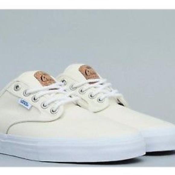 cd323e83fb8ca3 Vans Chima Ferguson Cork White Classic Shoes